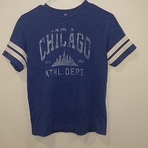 Blue Chicago tee